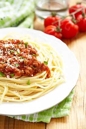 spaghetti bolognese rezept einfach lecker. Black Bedroom Furniture Sets. Home Design Ideas