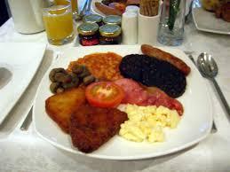 Kartoffelpuffer zum Englischen Frühstück